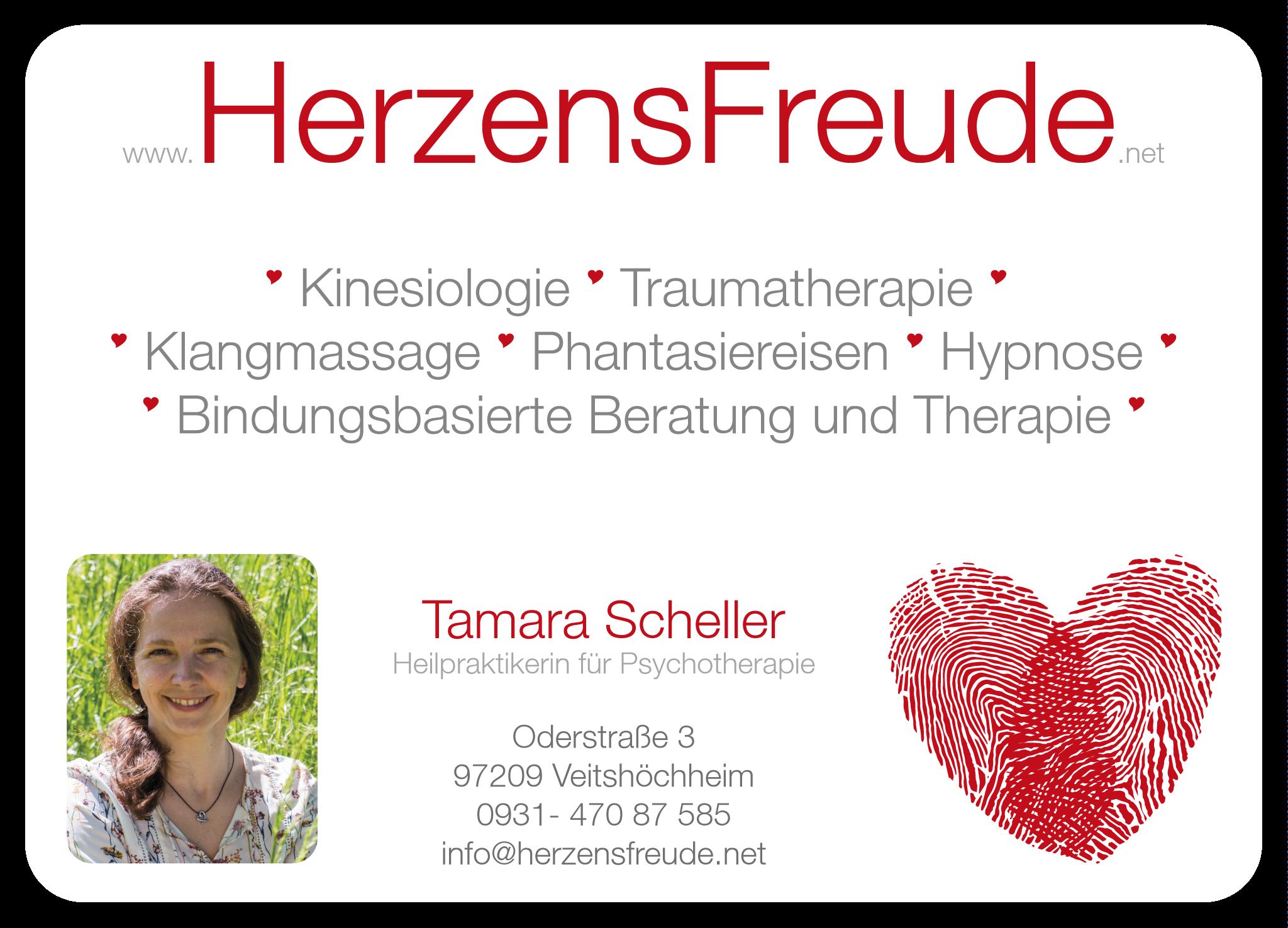 HerzensFreude - Tamara Scheller